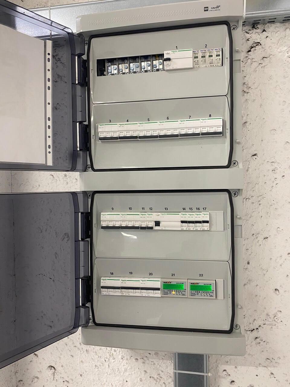 Usługa instalacji elektrycznej